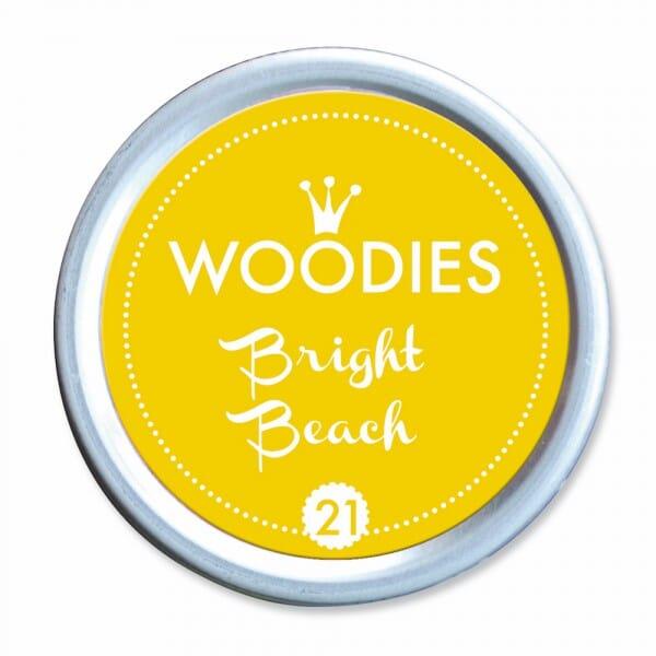 Woodies Stempelkissen - Bright Beach bei Stempel-Fabrik