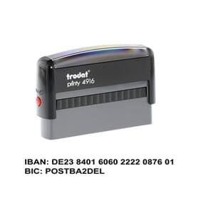 IBAN-Stempel