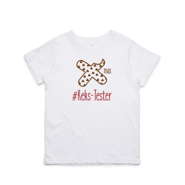 "Kinder T- Shirt ""X-mas Kekstester"""