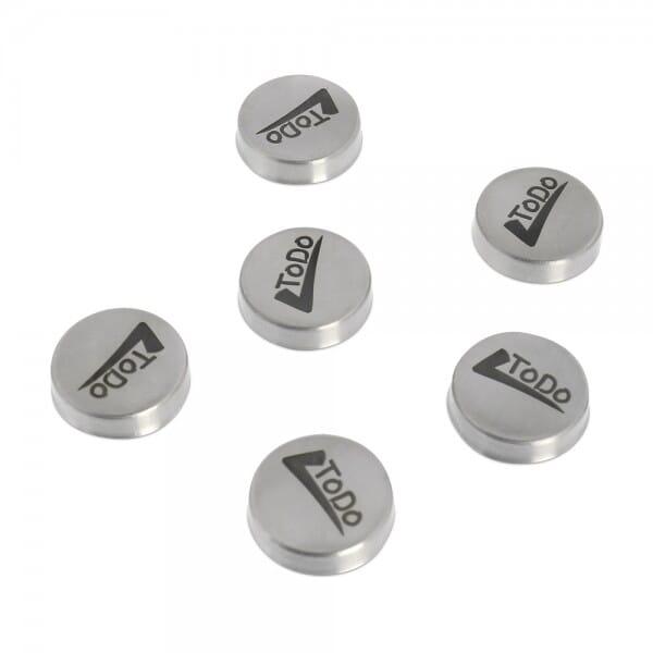Magnete - 6 Stück (Gravurmaß Ø 20 mm)