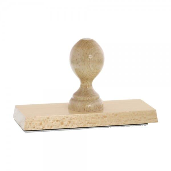 Holzstempel (160x60 mm - 12 Zeilen)