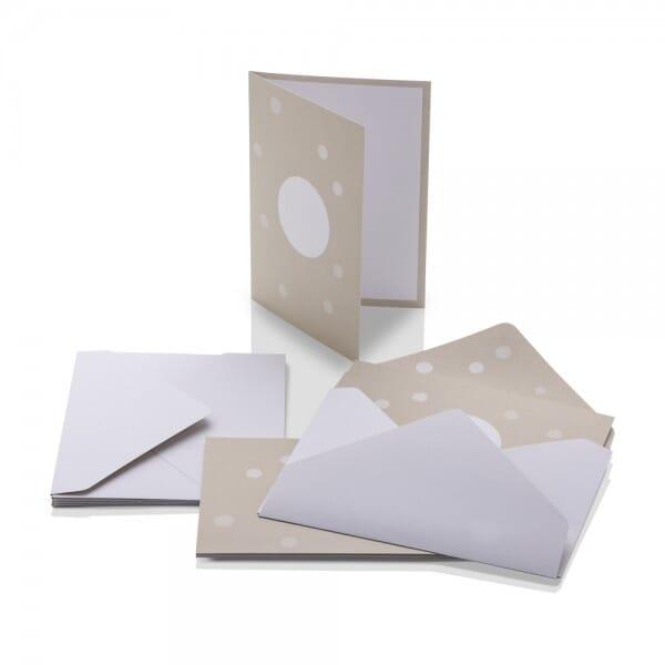 NIO Briefumschläge C6 Craft (100x155 mm - 6 Stück)