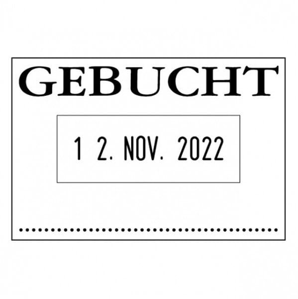 Colop Bänderstempel 04060/L GEBUCHT (45x30 mm)