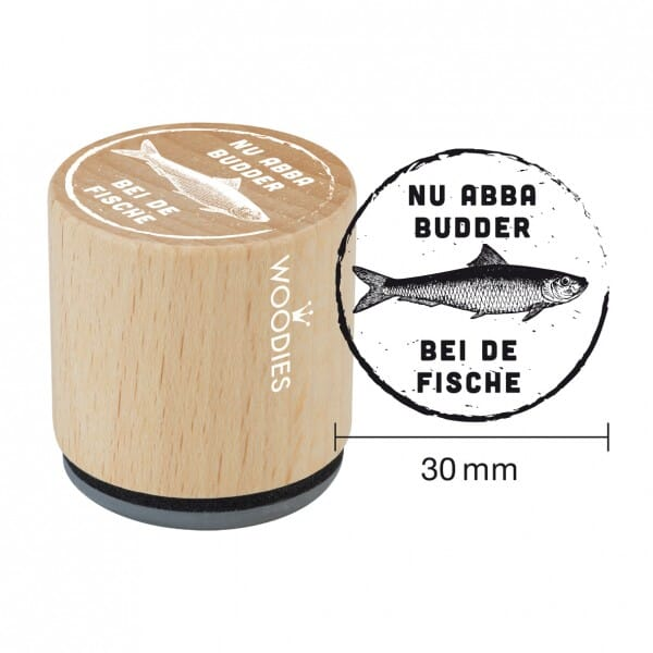 Woodies Stempel - Budder W10002