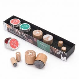 Woodies Stempel SET - Weihnachten WS0007