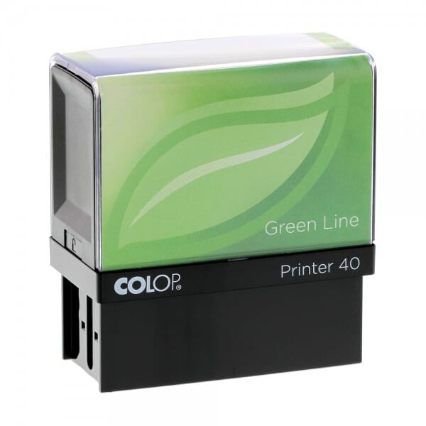 Colop Printer 40 Green Line (59x23 mm - 6 Zeilen)