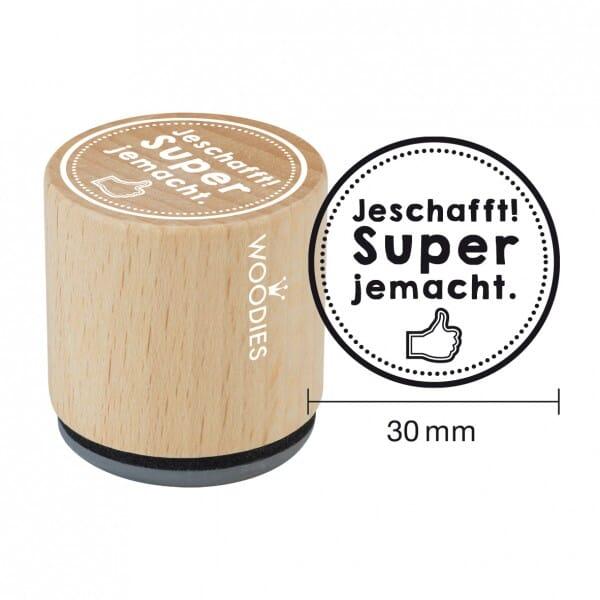 Woodies Stempel - Jeschafft!