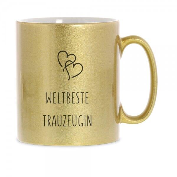 "Keramiktasse ""Weltbeste Trauzeugin"""