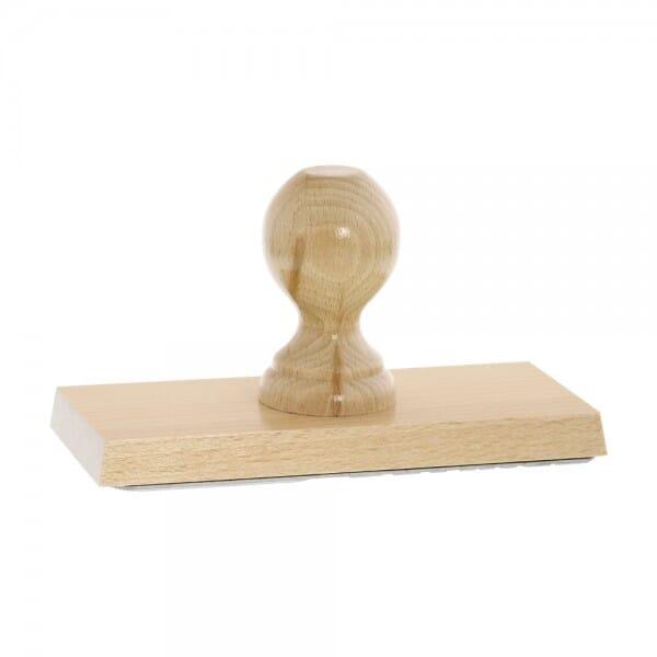 Holzstempel (180x80 mm - 16 Zeilen)