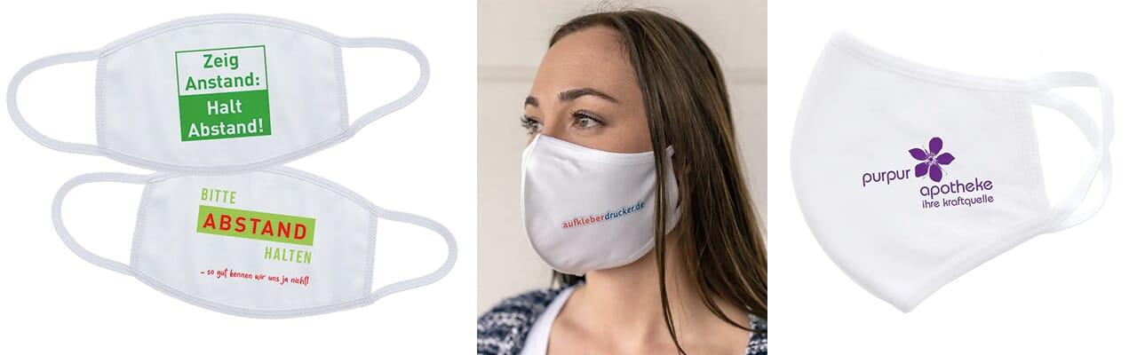 individuell gestaltbare Masken