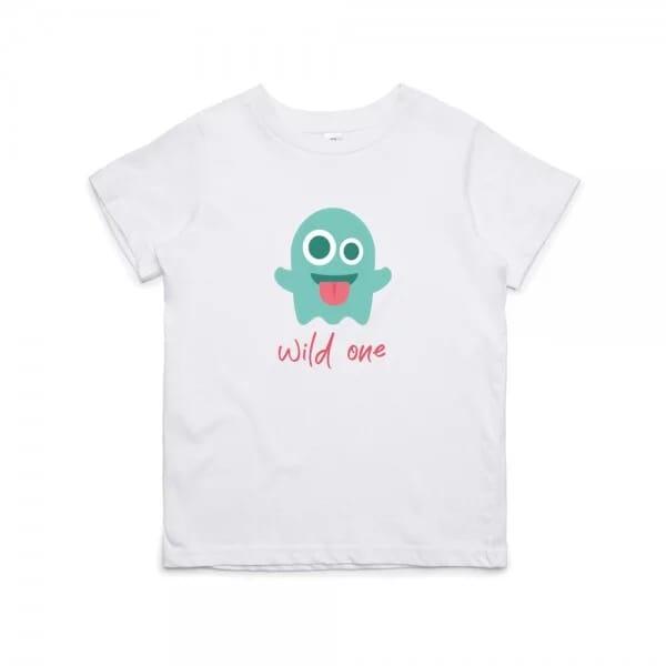 """Kinder T- Shirt zum 1.Geburtstag """"wild one"""""""