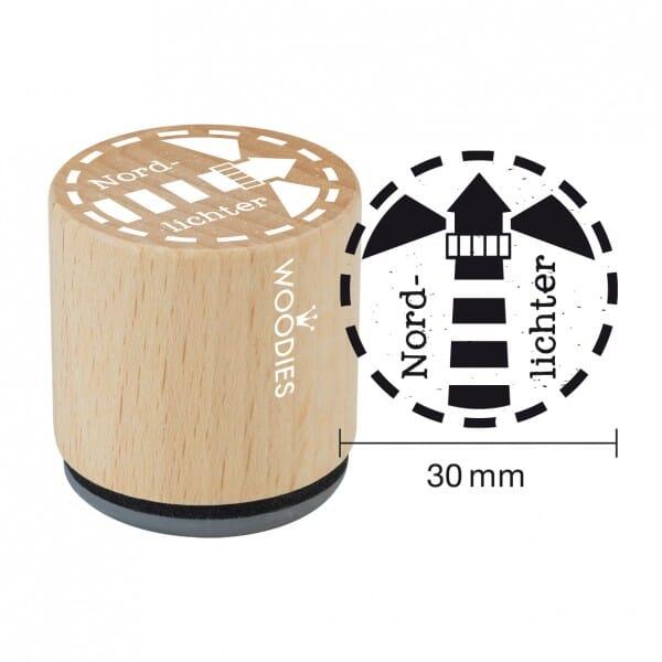SALE - W10003 Woodies Stempel - Nordlichter