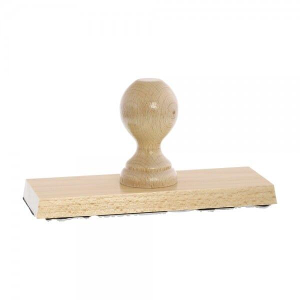 Holzstempel (190x70 mm - 14 Zeilen)