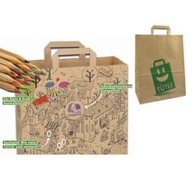 Tütle - umweltfreundliche Papiertüte zum Stempeln