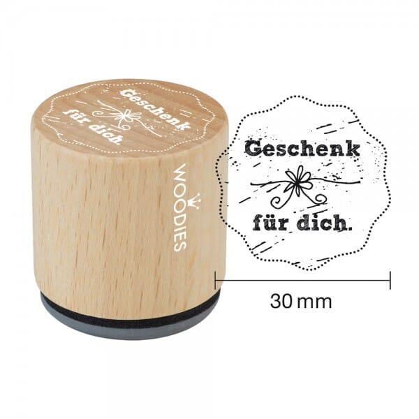 Woodies Stempel - Geschenk für Dich bei Stempel-Fabrik