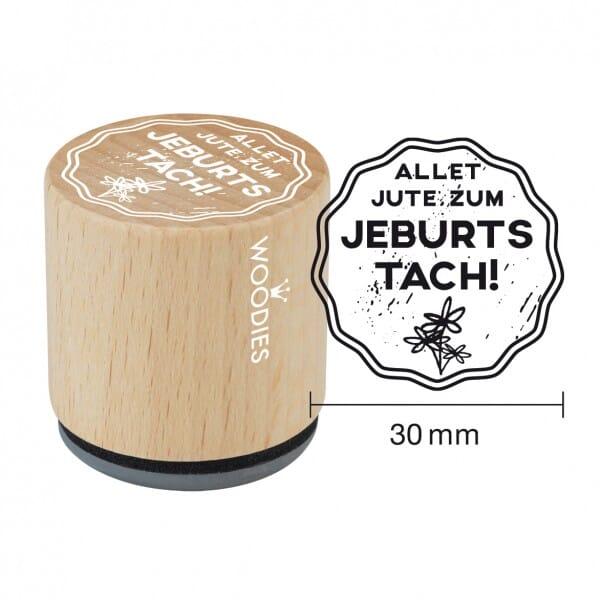 Woodies Stempel - Jeburtstach