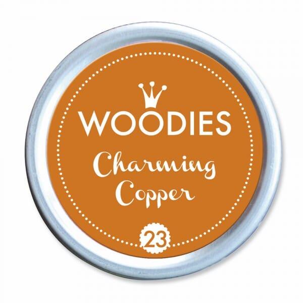 Woodies Stempelkissen - Charming Copper bei Stempel-Fabrik
