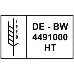 IPPC Holzstempel (100x60 mm)