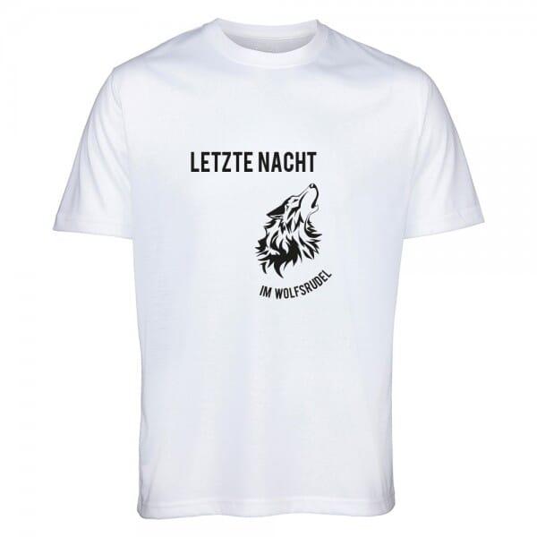 """T- Shirt Standard Junggesellenabschied """"Wolfsrudel"""""""
