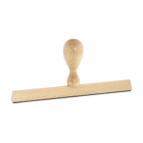 Holzstempel (190x10 mm - 2 Zeilen)