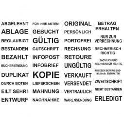 Dormy Imprint 11 Lagertext (37x14 mm - 1 Zeile)