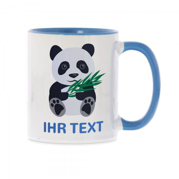 "Keramiktasse ""Panda"" inkl. individueller Druck"