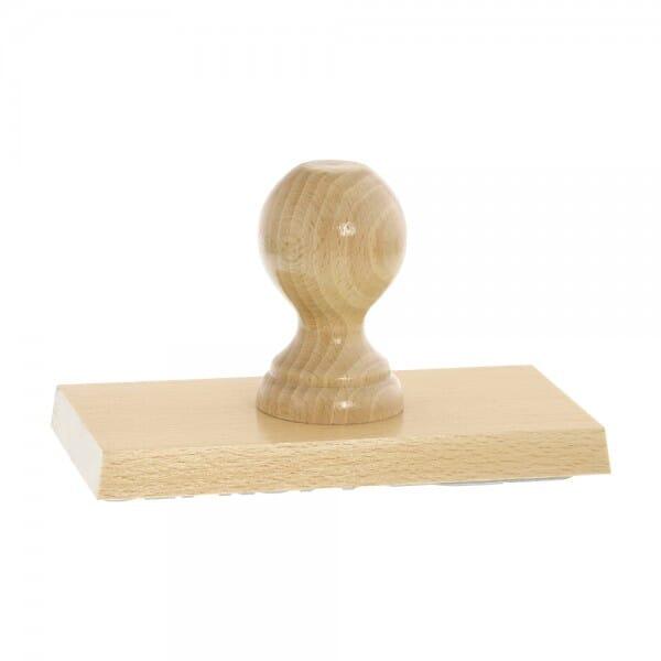 Holzstempel (170x90 mm - 18 Zeilen)
