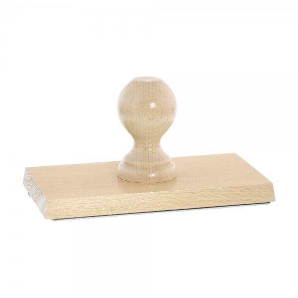 Holzstempel (190x100 mm - 20 Zeilen)
