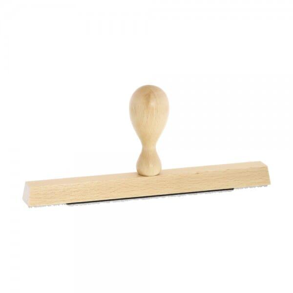 Holzstempel (200x20 mm - 4 Zeilen)