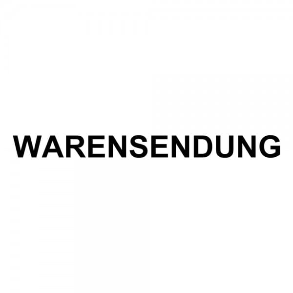 Holzstempel WARENSENDUNG (60x10 mm - 1 Zeile)