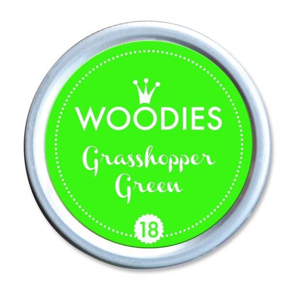 Woodies Stempelkissen - Grasshopper Green bei Stempel-Fabrik
