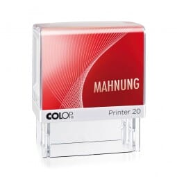 Colop Printer 20 LGT MAHNUNG (38x14 mm)