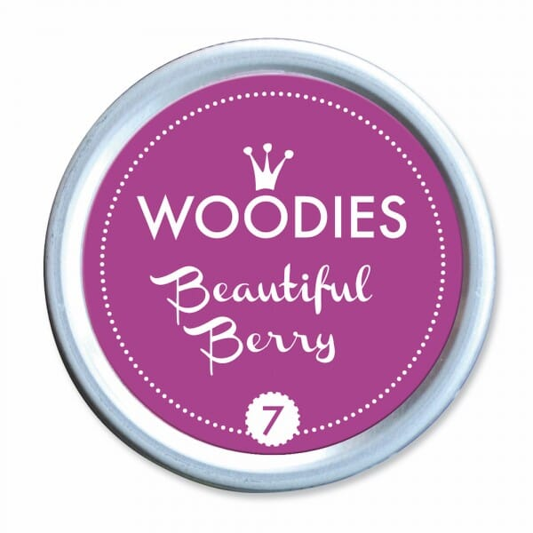 Woodies Stempelkissen - Beautiful Berry