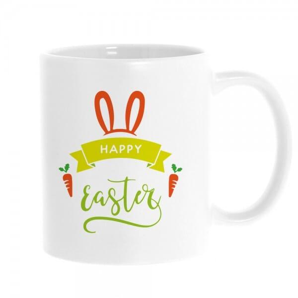 "Keramiktasse Ostern ""Happy Easter"""