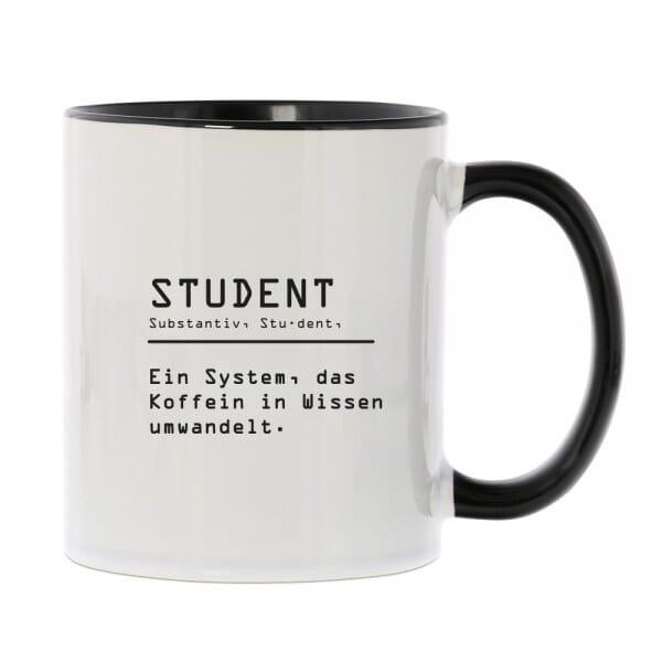 Keramiktasse für Studenten