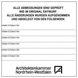 Holzstempel (180x180 mm - 36 Zeilen)
