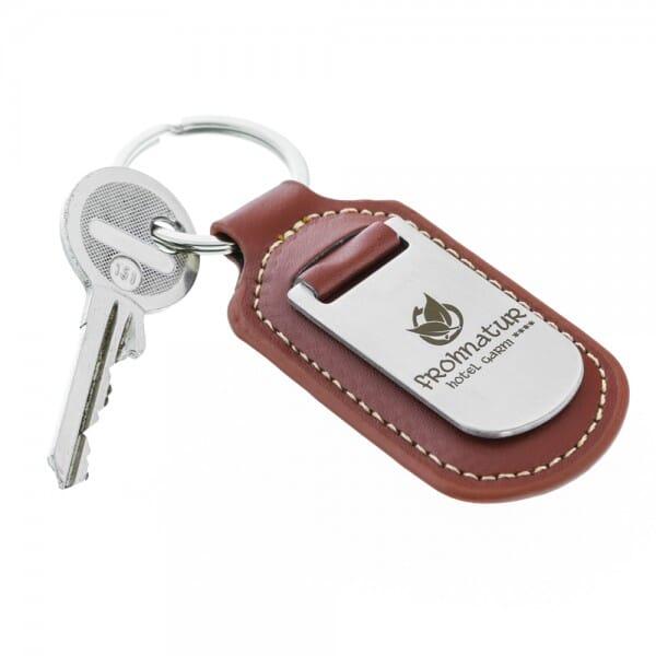 Schlüsselanhänger Kloden in einer Geschenkschachtel (Gravurmaß 20x30 mm)