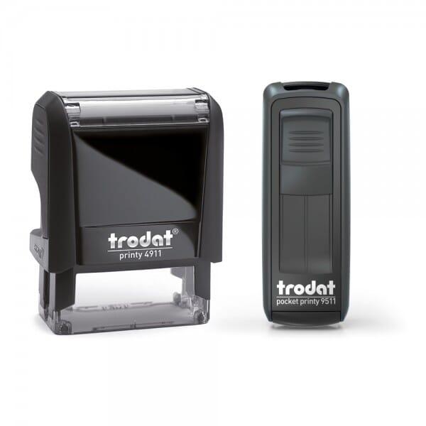 Doppelpack / Trodat Printy 4911 + Pocket Printy 9511