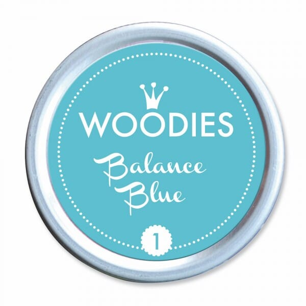 Woodies Stempelkissen - Balance Blue
