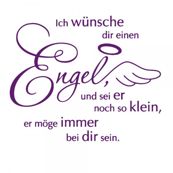 Geburt-Taufe und Kirche Holzstempel - Engel (50x50 mm)