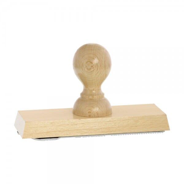 Holzstempel (140x50 mm - 10 Zeilen)