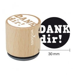 Woodies Stempel - Dank dir