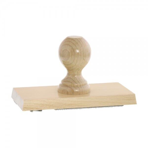 Holzstempel (170x80 mm - 16 Zeilen)