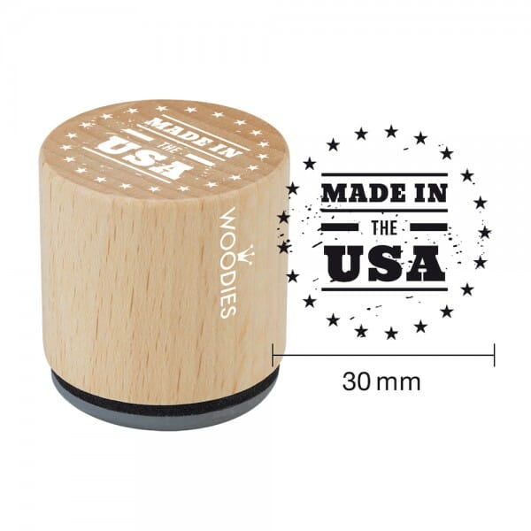 Woodies Stempel - Made in USA WE1107