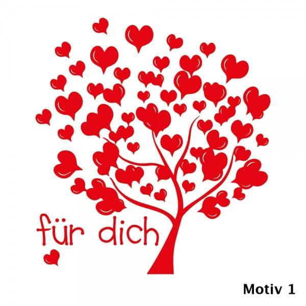 Liebe Holzstempel (Ø 40 mm)