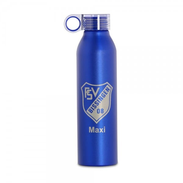 SALE - Aluminium Sportflasche (Gravurmaß 12x8 cm)