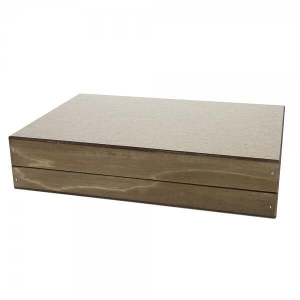 Signier-Stempelkissen aus Holz Nr. 3 (297 x 117 mm)