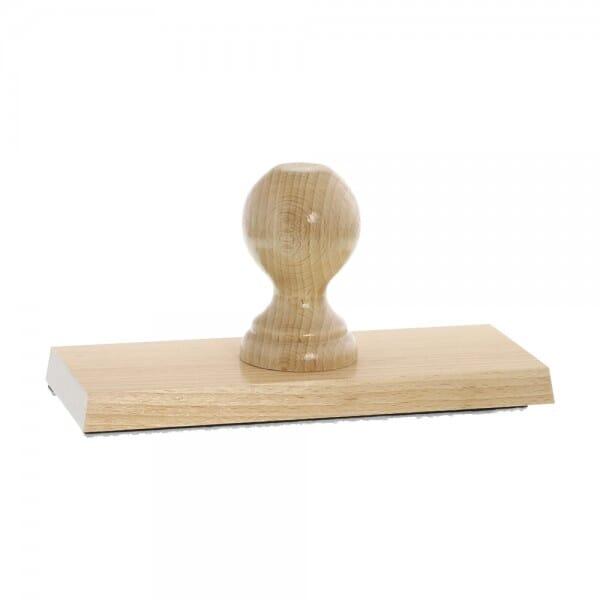 Holzstempel (200x80 mm - 16 Zeilen)