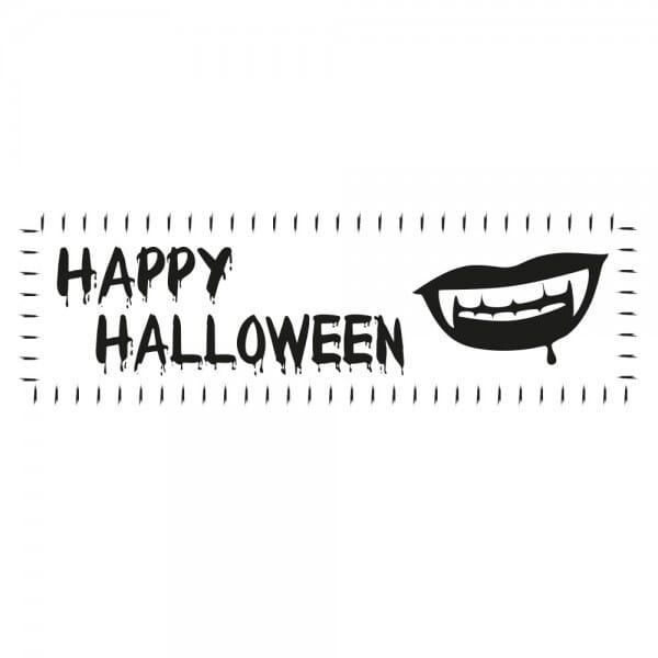 Halloween Holzstempel - Mund (70x20 mm)