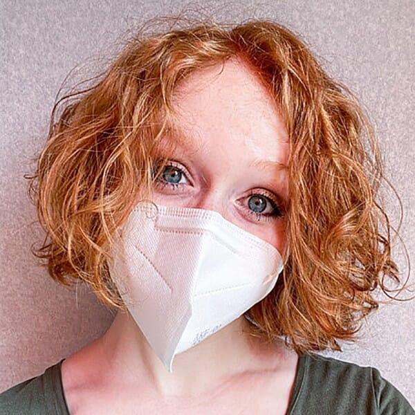 Gesichtsmaske FFP2 KN95 wiederverwendbar